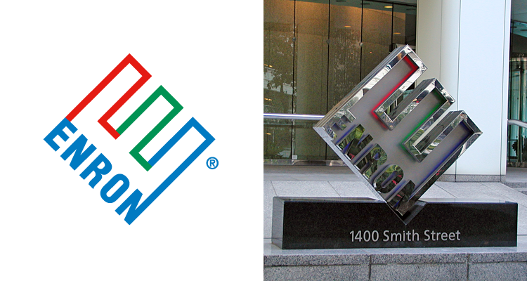 логотип компании enron