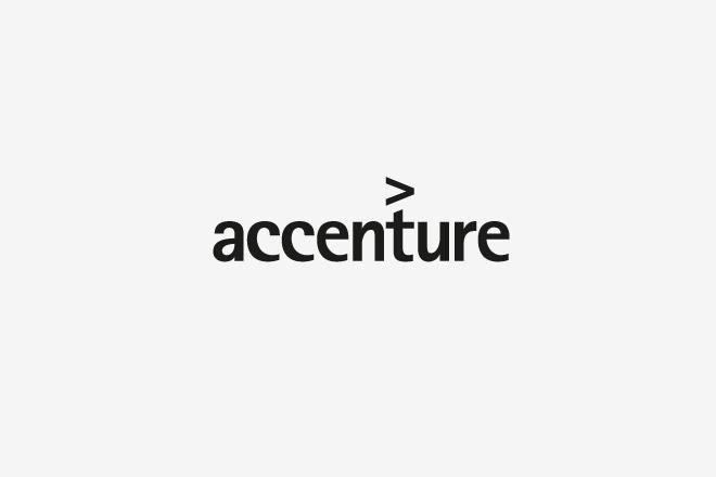 логотип компании accenture
