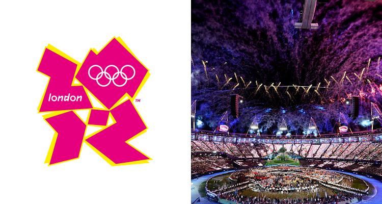 логотип олимпийских игр в Лондоне