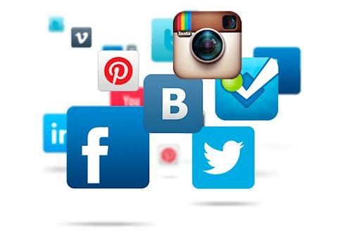 Реклама в социальных сетях: Одноклассниках, ВКонтакте, Facebook.