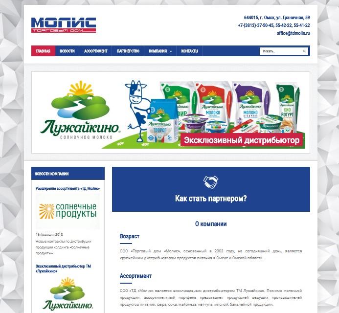 разработка сайтов в омске